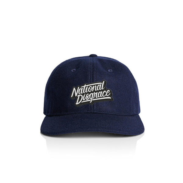 Embroidered Navy 6 Panel